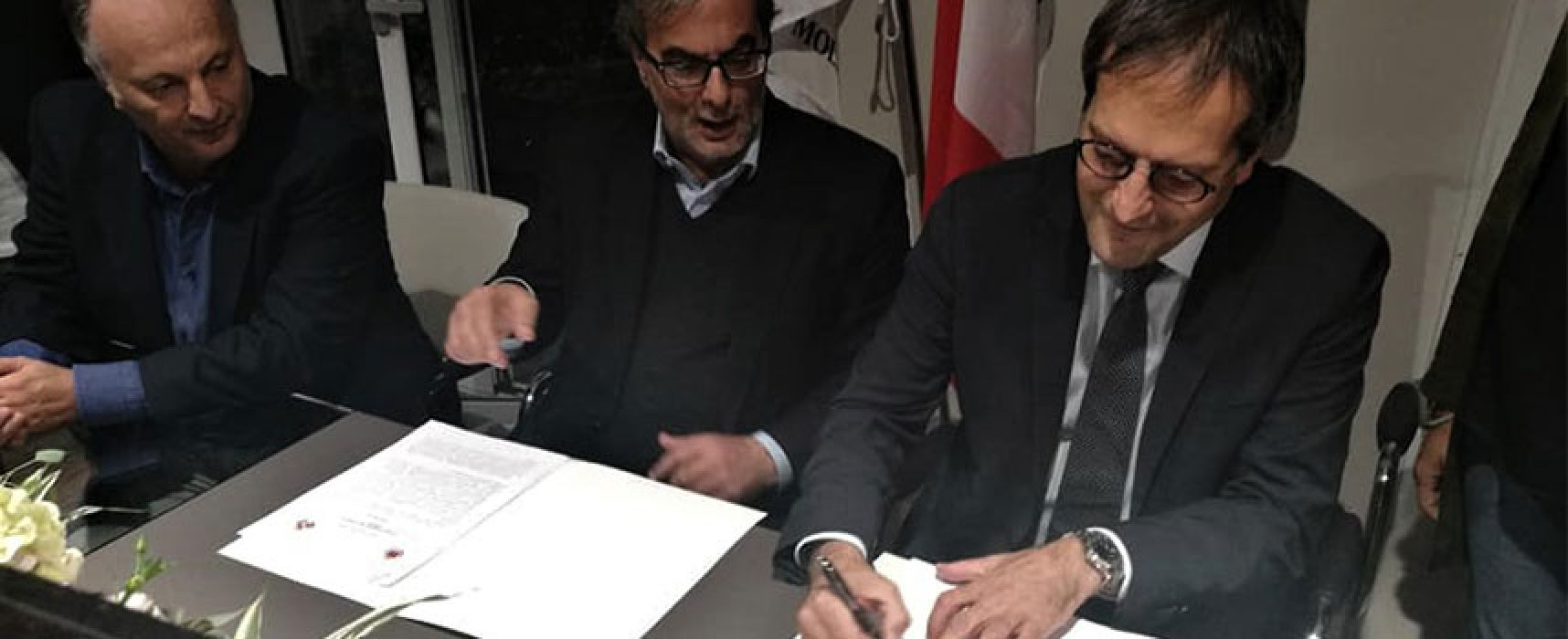 """Firmata Candidatura Bisceglie alla Zes, Angarano: """"Giornata storica"""""""