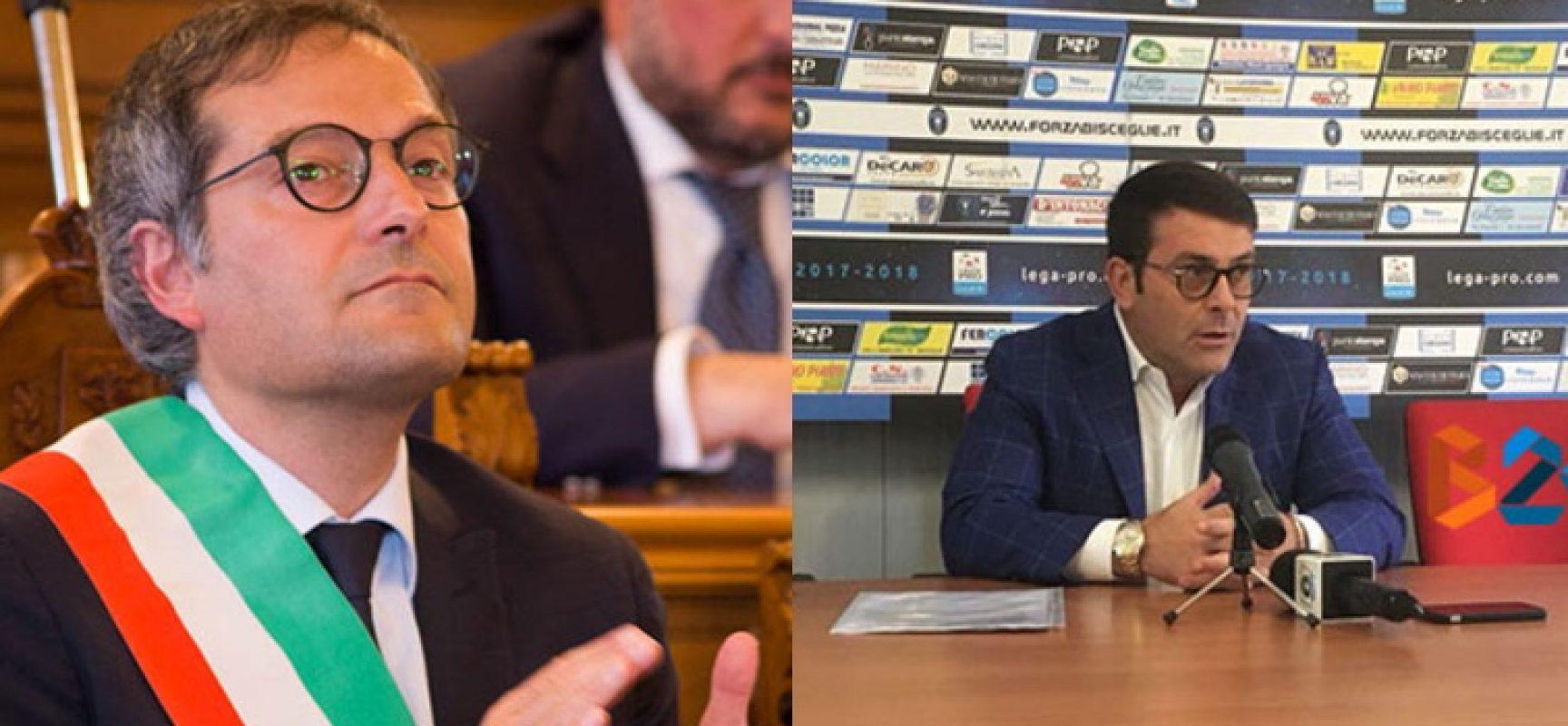 """Bisceglie Calcio, Angarano su dimissioni Canonico: """"Fuori luogo coinvolgere amministrazione"""""""