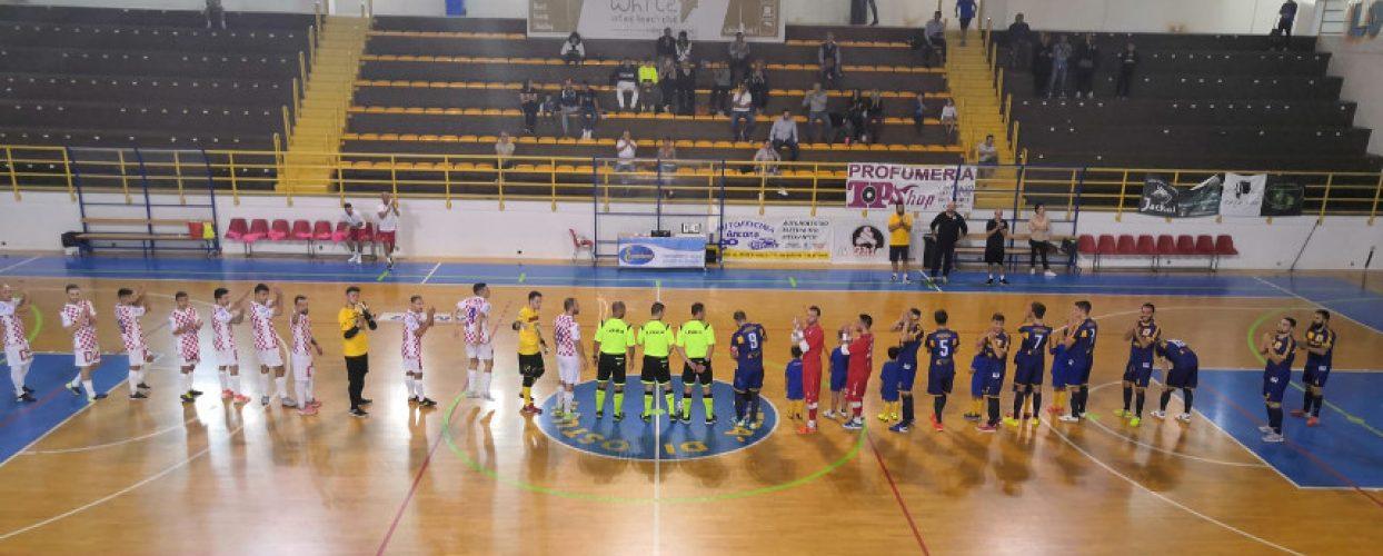 Futsal Bisceglie cade in casa, pari Diaz, Futbol Cinco ok