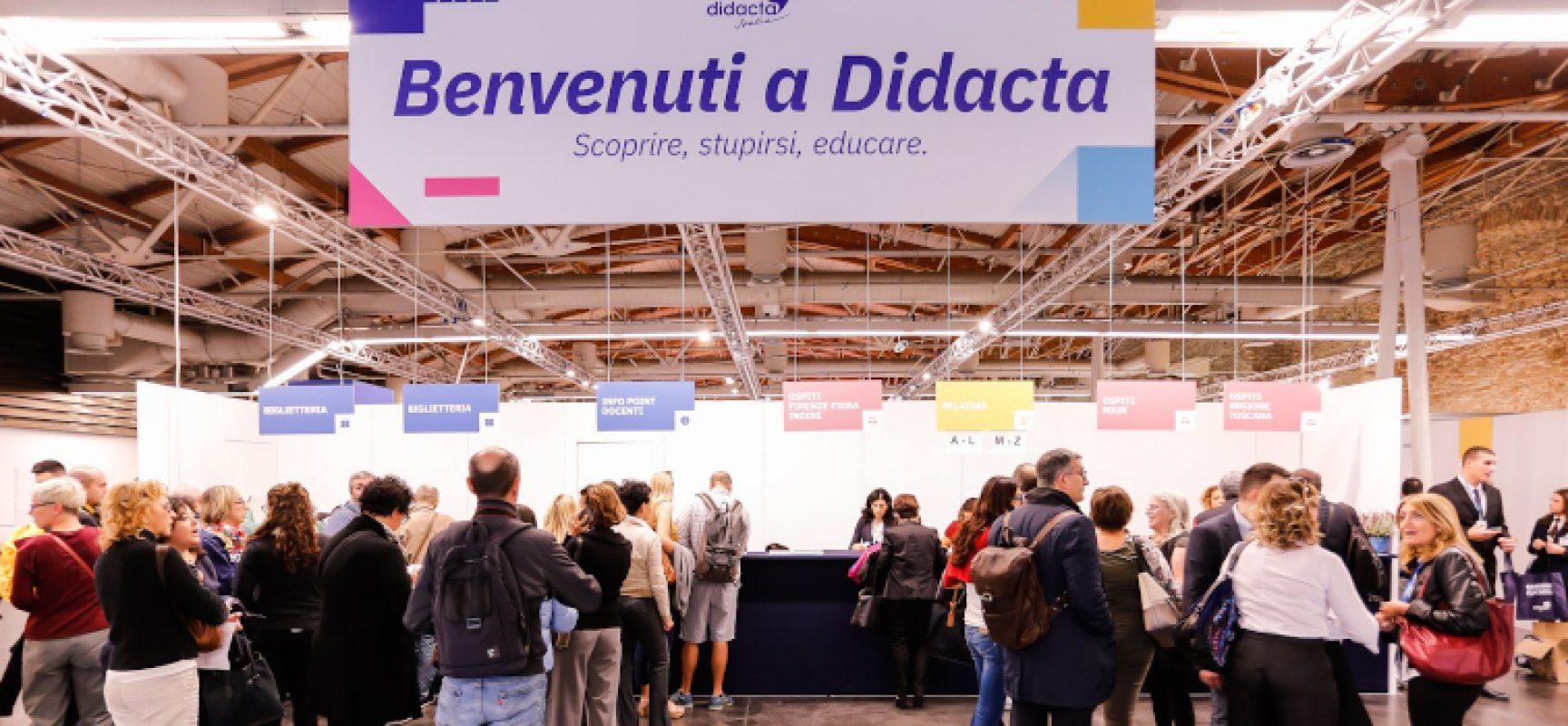 """Istruzione, l'Istituto """"Sergio Cosmai"""" di Bisceglie partecipa alla Fiera Didacta Italia"""