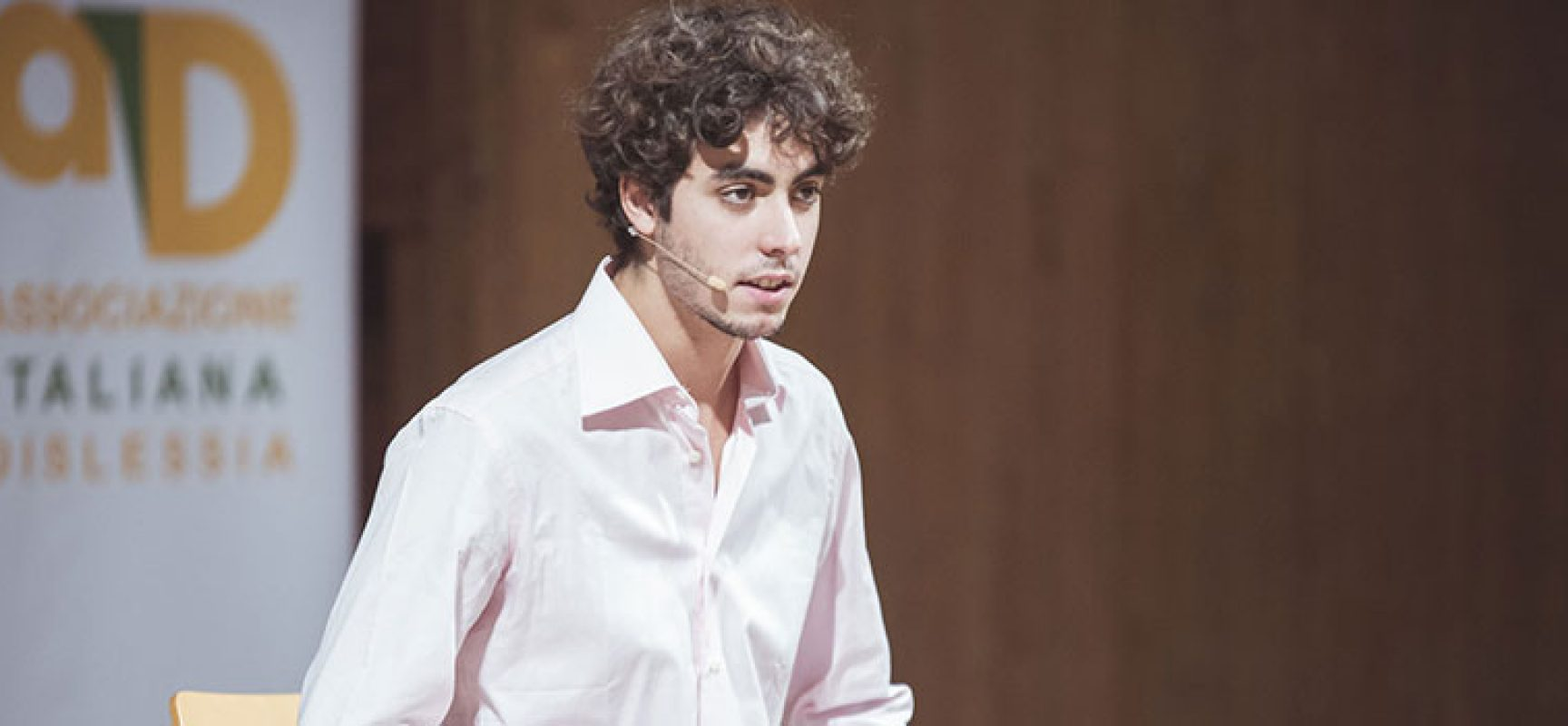 Settimana nazionale dislessia, monologo di Francesco Riva al Don Sturzo