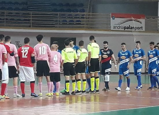 Futbol Cinco, amara sconfitta contro la Futsal Andria