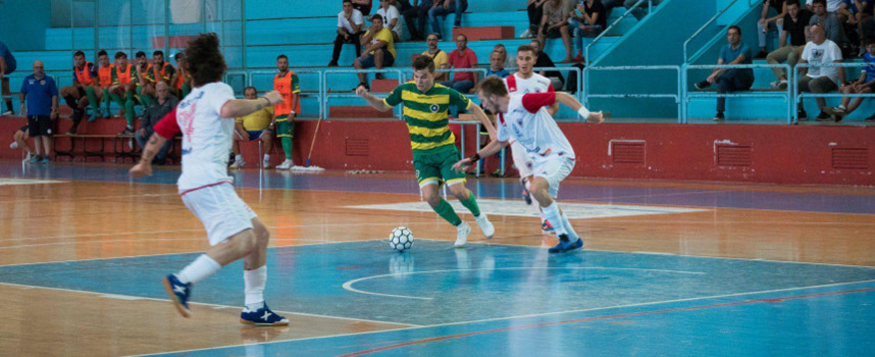 Futsal Bisceglie, secco ko contro il Futsal Polistena