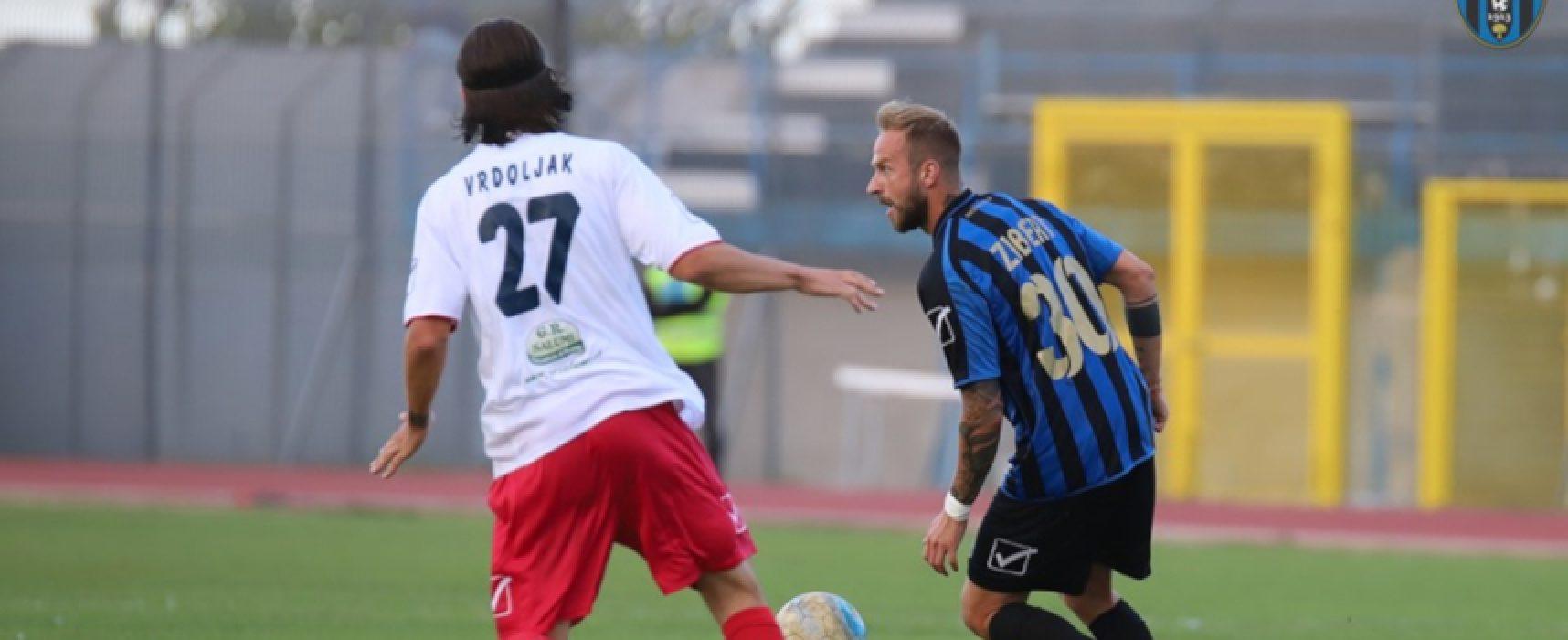 Bisceglie Calcio di scena a Catania per il turno infrasettimanale