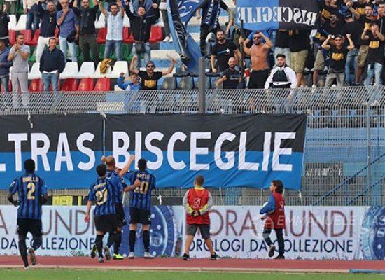 Ebagua-gol, il Bisceglie strappa un punto al Catania