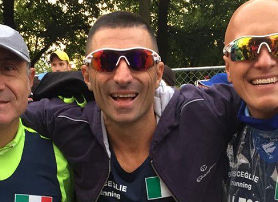 Tre maratoneti della Bisceglie Running tagliano il traguardo della Chicago Marathon