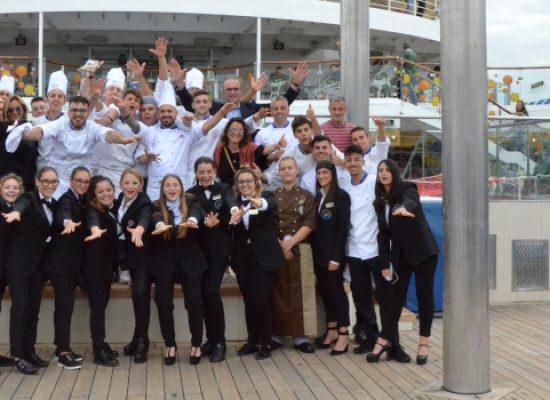 Lo chef biscegliese Tedeschi e l'Alberghiero di Molfetta protagonisti sulla Costa Magica / FOTO