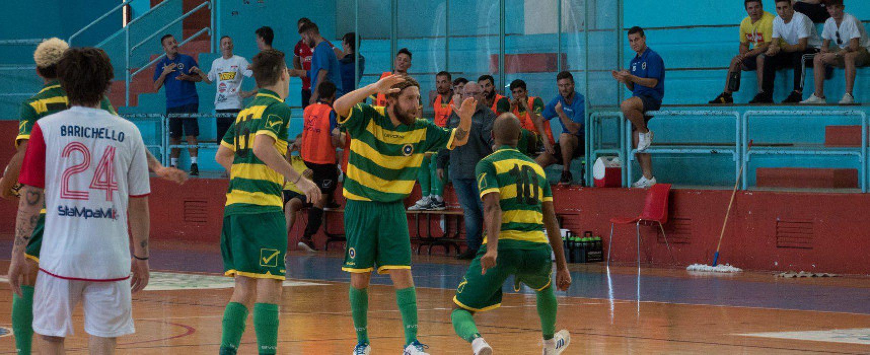 Futsal Bisceglie a caccia dei primi punti stagionali col Real Cefalù