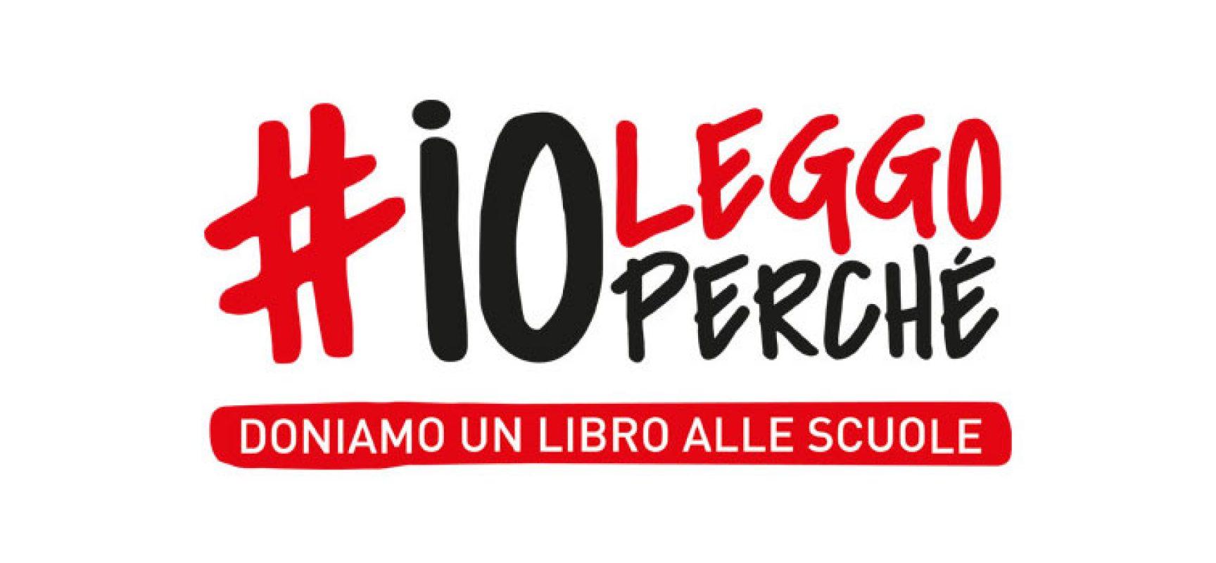 "L'Istituto ""Sergio Cosmai"" partecipa all'iniziativa #ioleggoperchè"