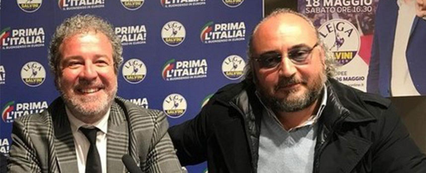 Raccolta firme della Lega Bat  in favore di Matteo Salvini