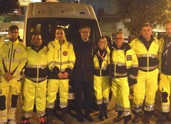 Operatori emergenza radio Bisceglie in partenza per l'Albania dopo il sisma