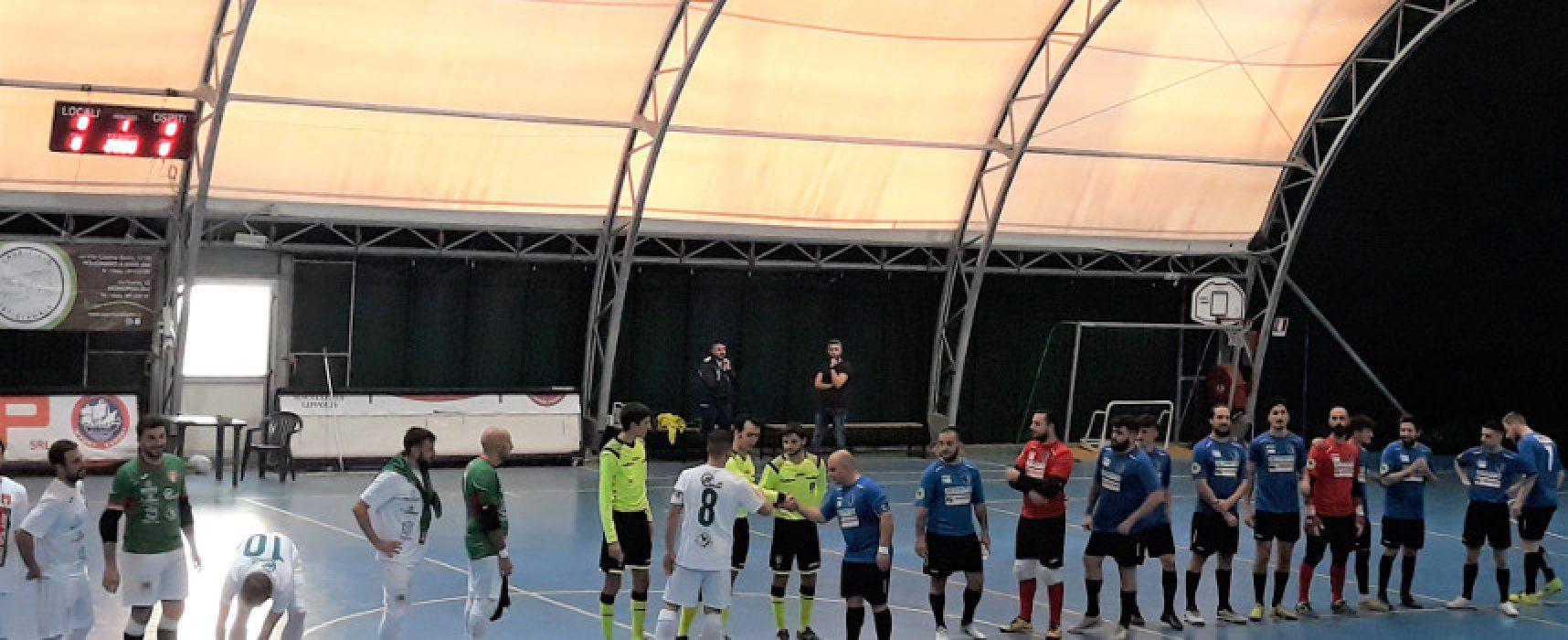 Futbol Cinco, questa sera il recupero contro il Futsal Monte Sant'Angelo