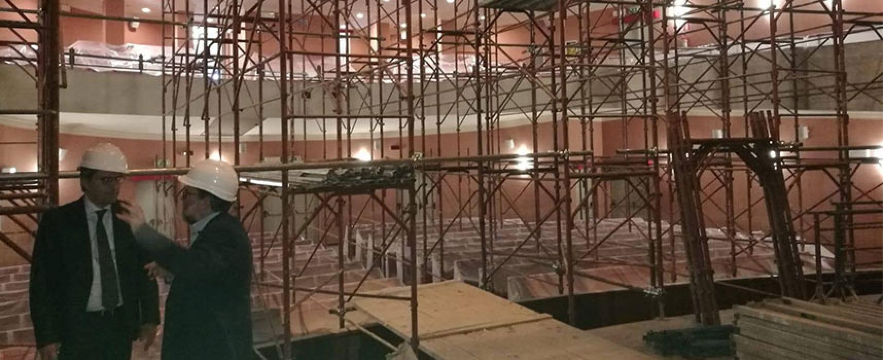 """Teatro Garibaldi, Angarano: """"Ora al via interventi che si sarebbero dovuti eseguire in passato"""""""