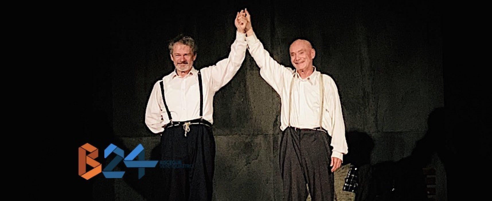Vetrano e Randisi portano a Bisceglie i Totò e Vicé di Scaldati, angeli appesantiti dal ventre