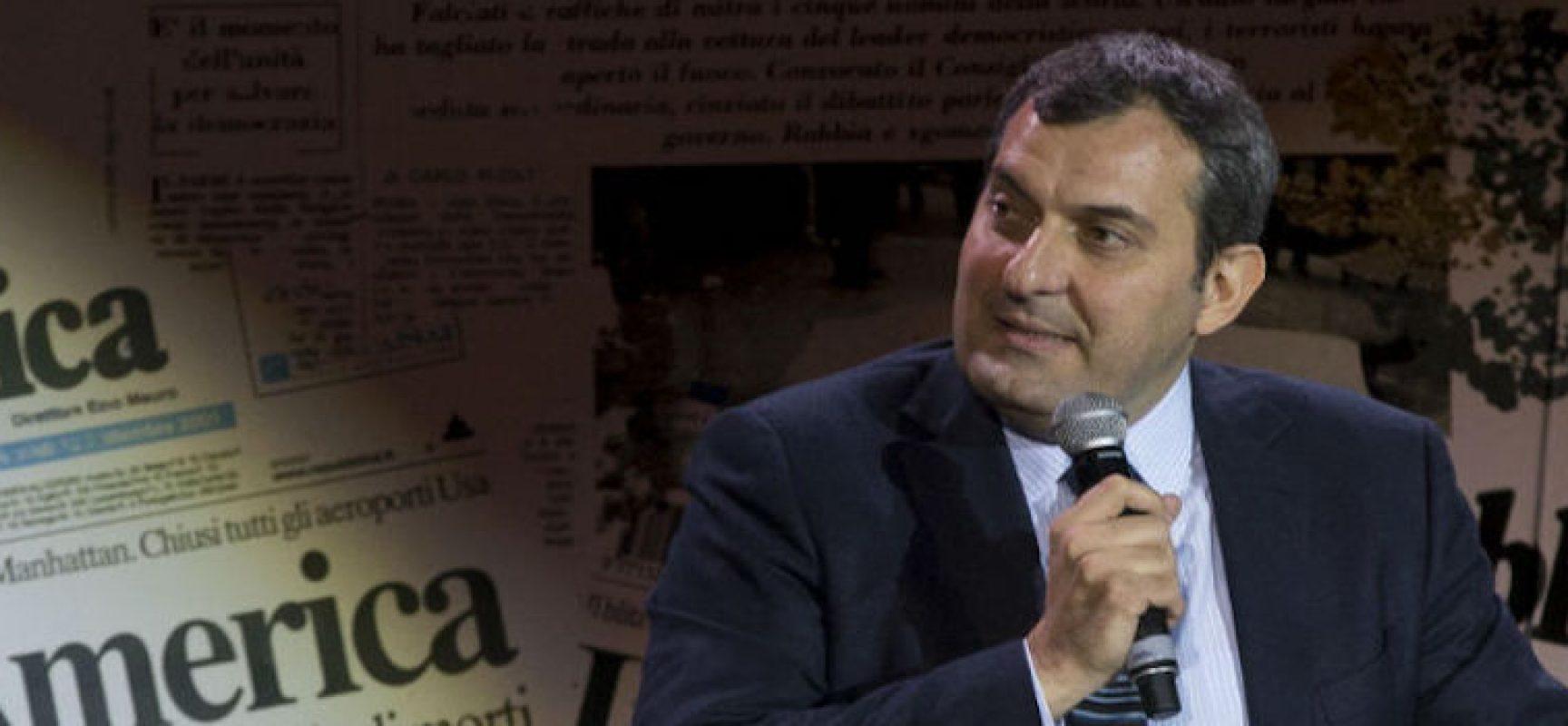 """Mario Calabresi oggi a Bisceglie per presentare il libro """"La mattina dopo"""""""