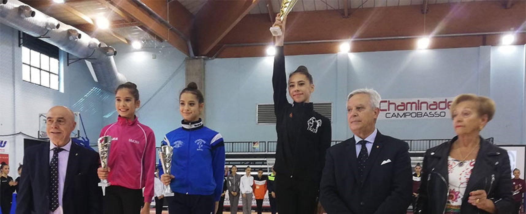 Ginnastica Ritmica, la biscegliese Abbadessa vince ed approda al Campionato Nazionale