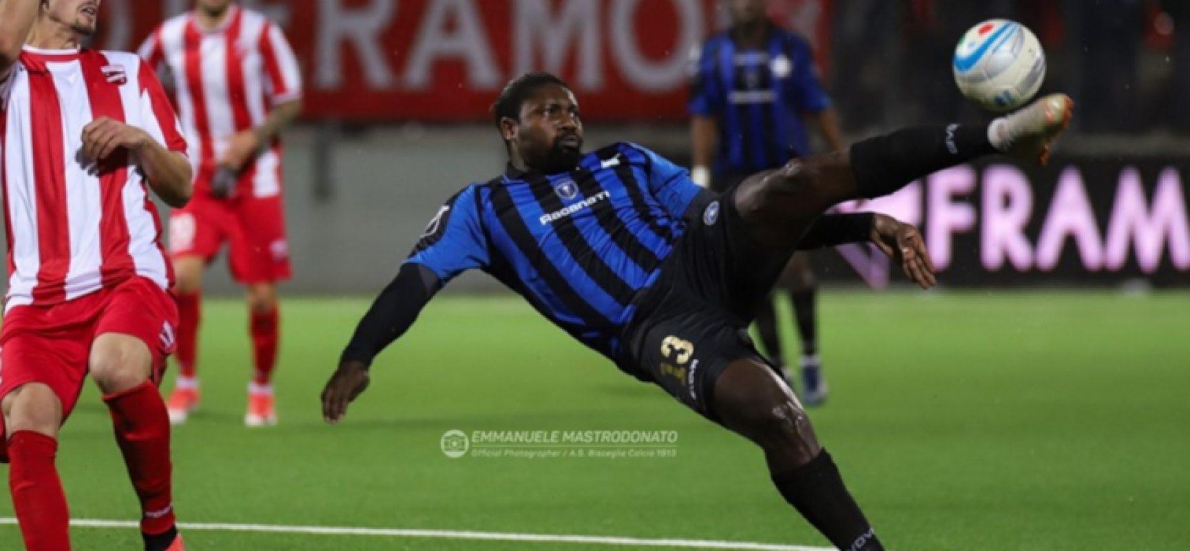Bisceglie Calcio sconfitto a Catanzaro nella gara d'esordio del 2020