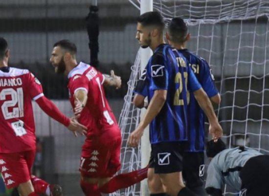 Bisceglie Calcio sconfitto, Antenucci trascina il Bari