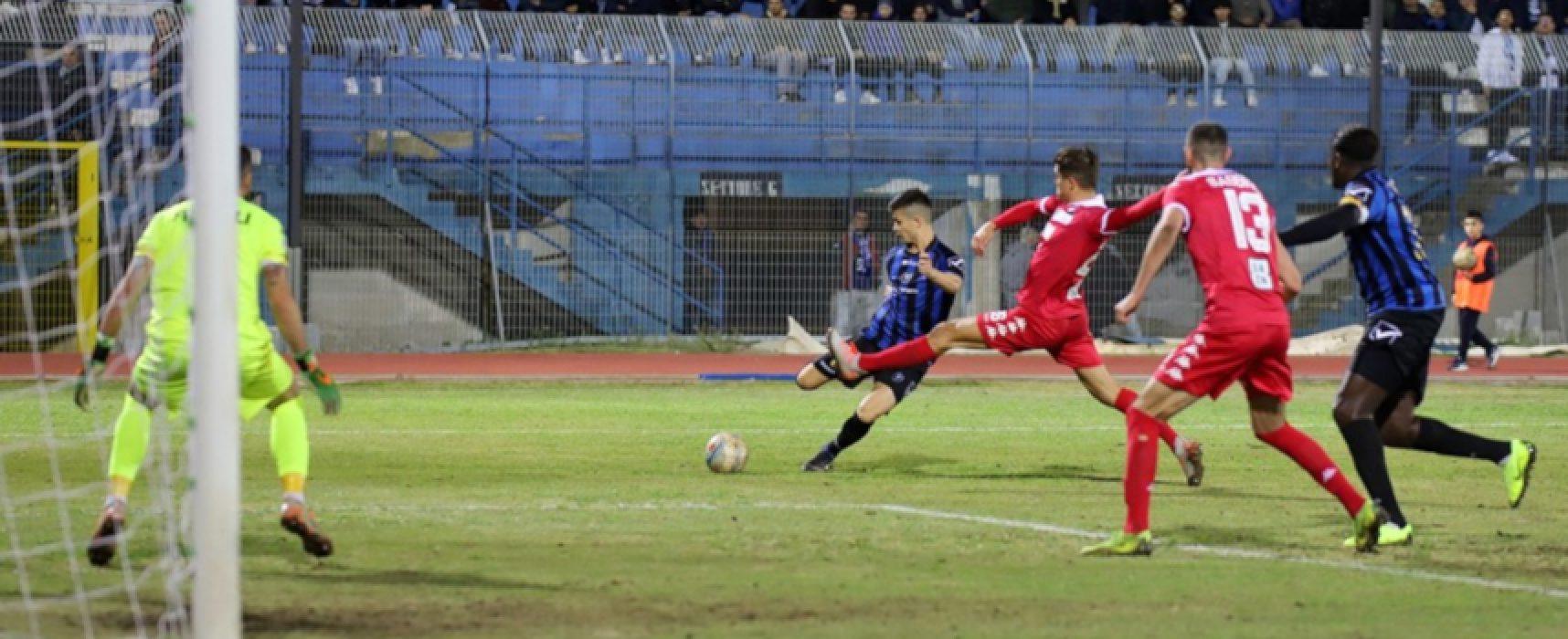 Bisceglie Calcio impegnato a Monopoli nell'anticipo di campionato