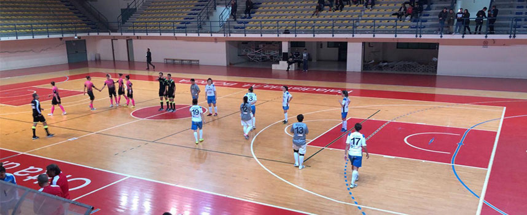 Contro la Futsal Salinis nuovo stop per il Bisceglie Femminile