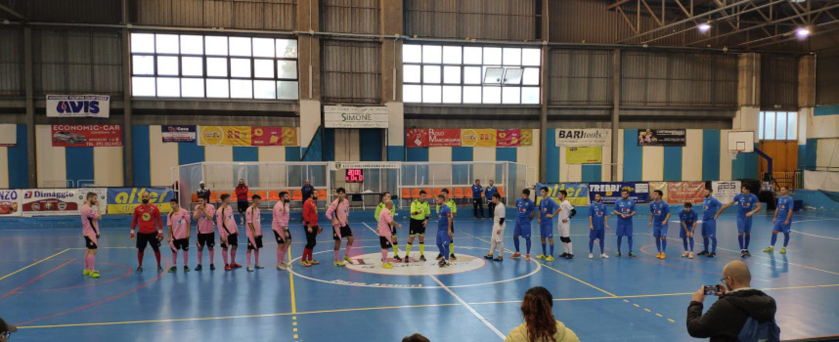 Futsal Bisceglie ko, ottimo pareggio per il Futbol Cinco