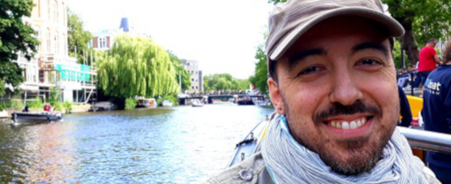 """""""Rimani acqua"""", il poeta biscegliese Fabio Di Benedetto presenta il suo ultimo libro"""