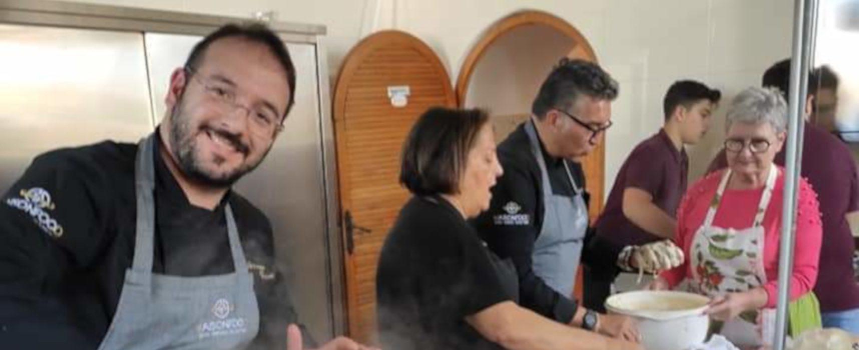 Studenti russi a scuola di cucina pugliese con gli chef biscegliesi Frizzale e Papagni / FOTO