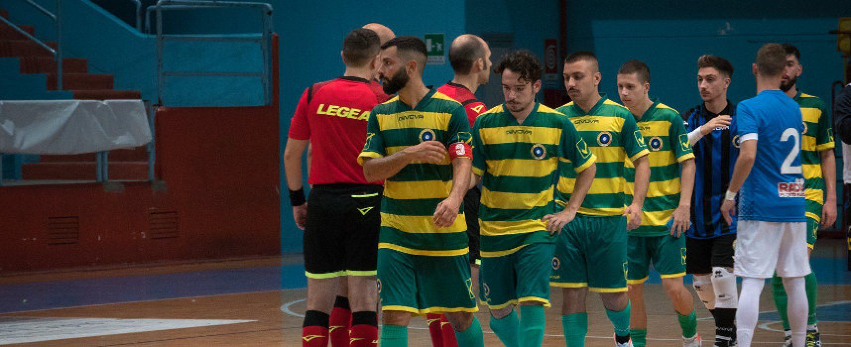 Futsal Bisceglie, risoluzione consensuale con altri tre calcettisti