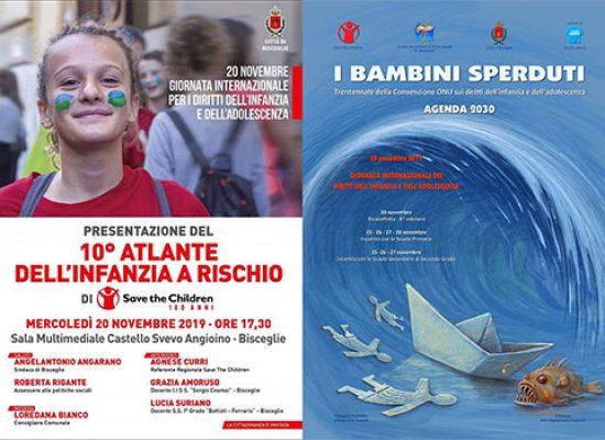 Giornata per i diritti dell'infanzia e dell'adolescenza, due eventi a Bisceglie