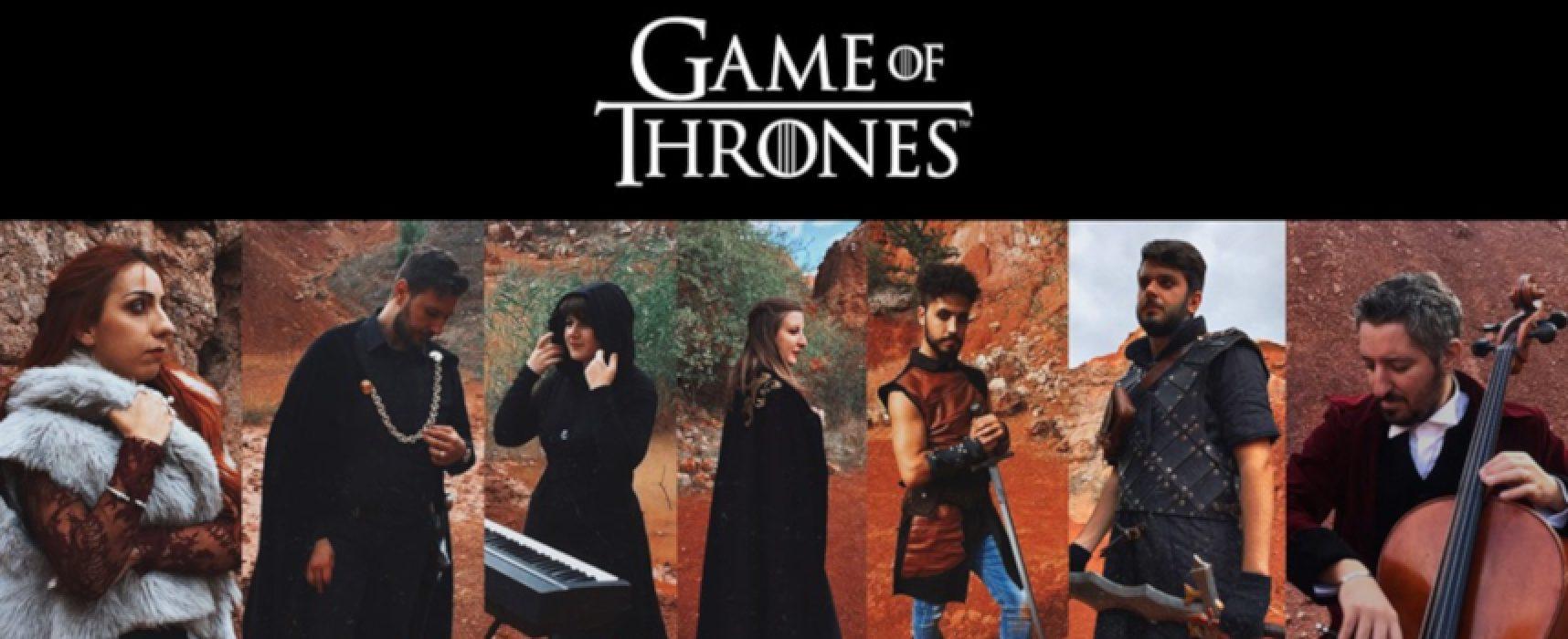 """L'Hdemia Zamar di Bisceglie presenta il videoclip """"Game of thrones theme / VIDEO e FOTO"""