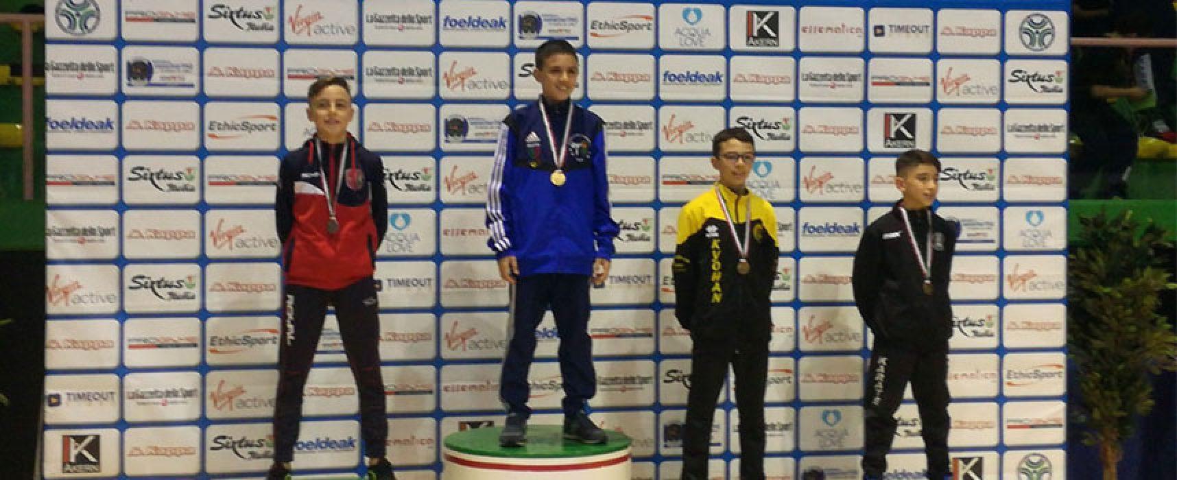 Bronzo per Federico Papagni ai Campionati Italiani di karate