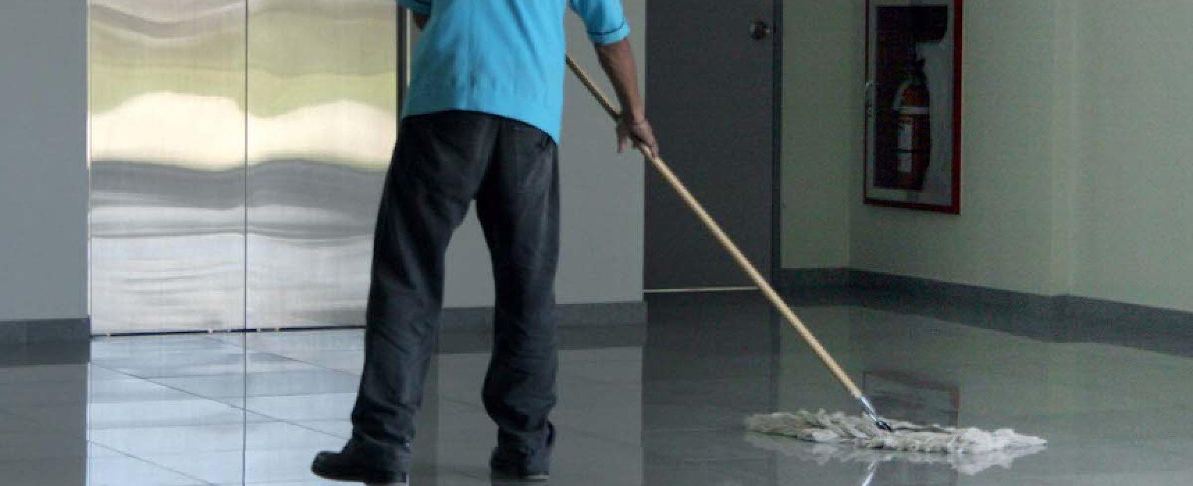 """Scadenza contratto pulizia immobili comunali, Filcams Cgil Bat: """"Cosa accadrà da lunedì?"""""""
