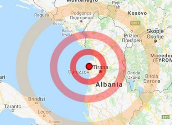 Forte scossa di terremoto in Albania, avvertita anche a Bisceglie