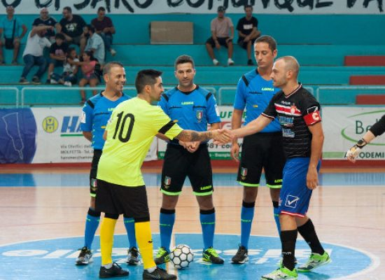 Derby della Bat per Futsal Bisceglie e Diaz, scontro salvezza per il Futbol Cinco