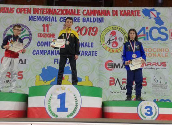 Fratelli Papagni protagonisti all'Open di Campania di karate
