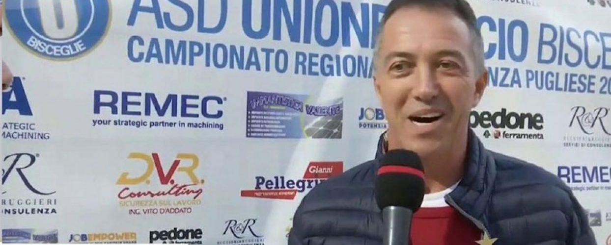 Virtus Bisceglie, termina il rapporto con Mister Di Corrado