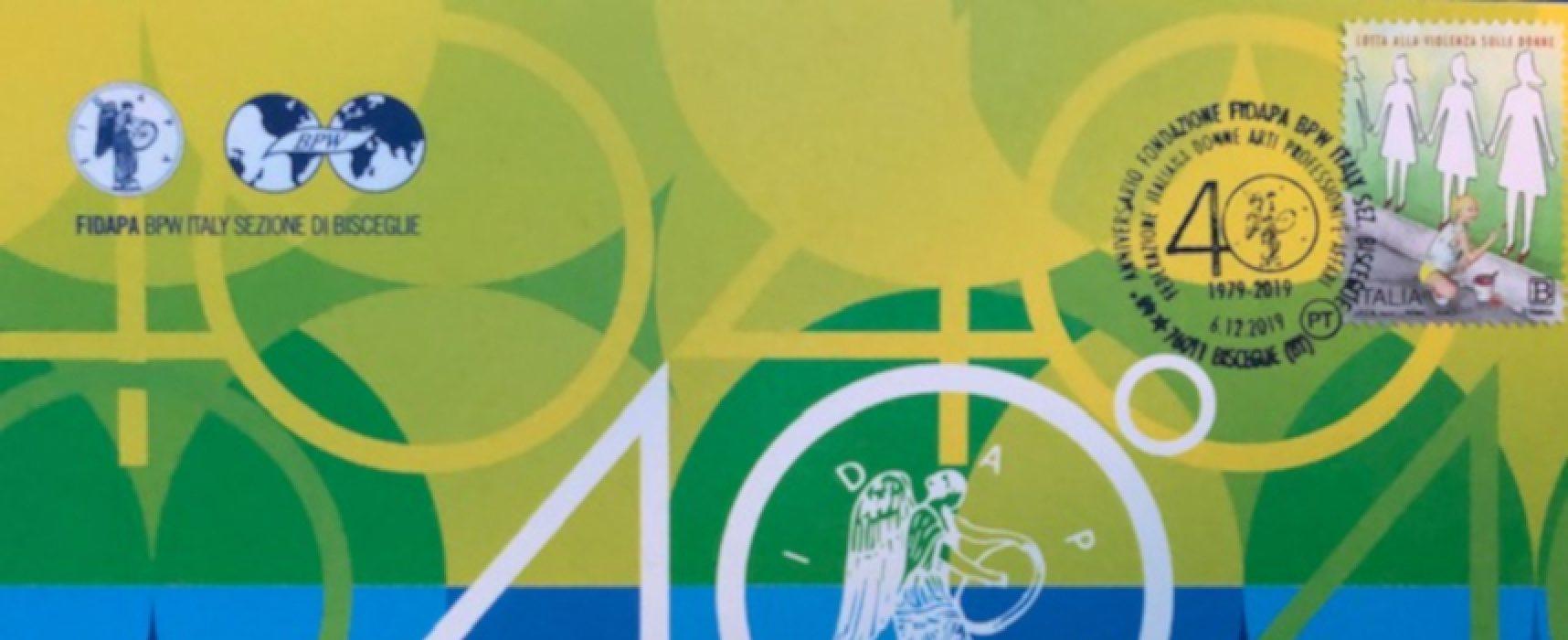 Fidapa festeggia i suoi primi 40 anni con un un annullo filatelico speciale