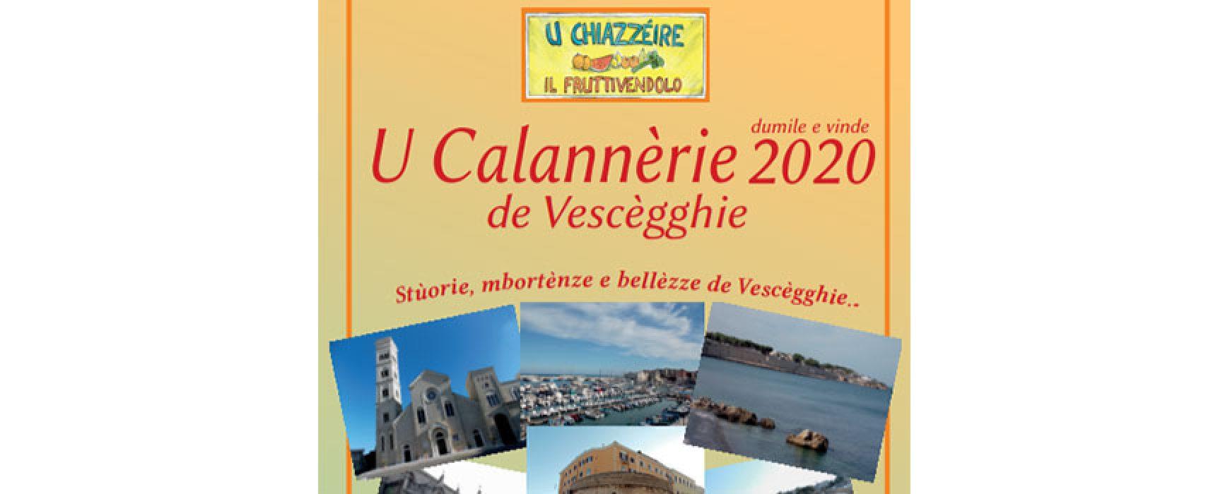 """""""U Calannèrie 2020"""", presentato il nuovo calendario in dialetto biscegliese"""