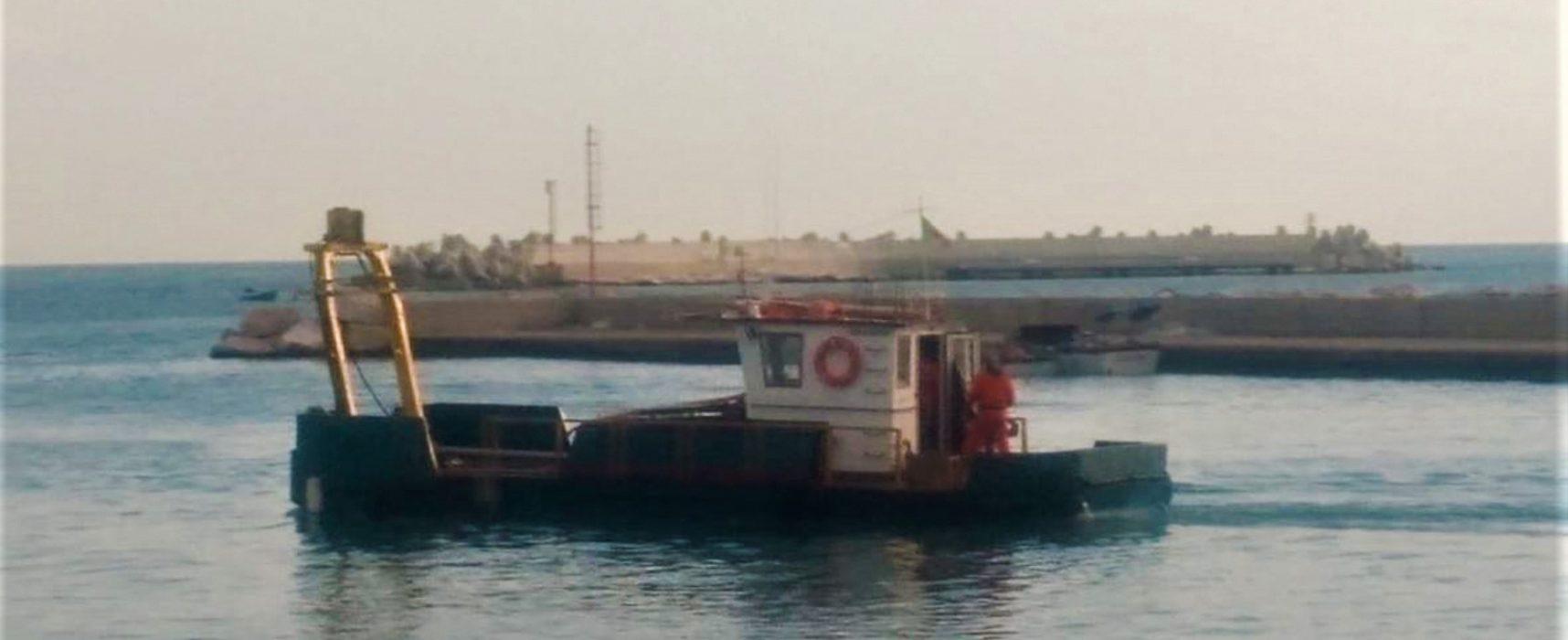 """Campionamenti propedeutici al dragaggio del porto, Angarano: """"Opera strategica attesa 20 anni"""""""