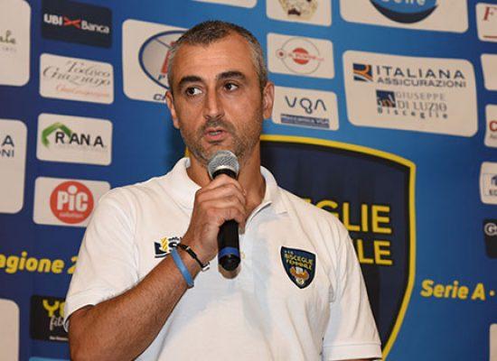 Scossa in casa Bisceglie Femminile, dimissioni per  Francesco Ventura