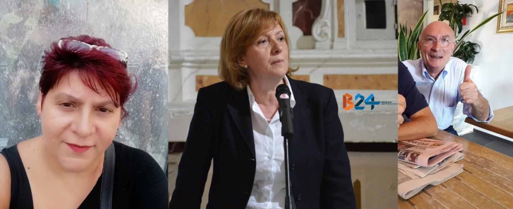 Fratelli d'Italia Bisceglie, la segretaria Tonia Spina affiancata da Mariagrazia Simone e Lino Todisco