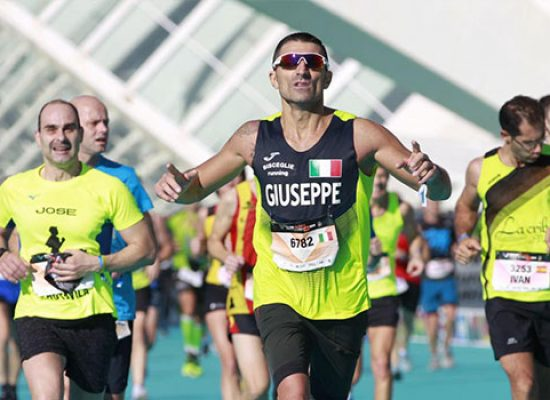Prestazione di rilievo per Giuseppe Ruggieri alla Valencia Marathon
