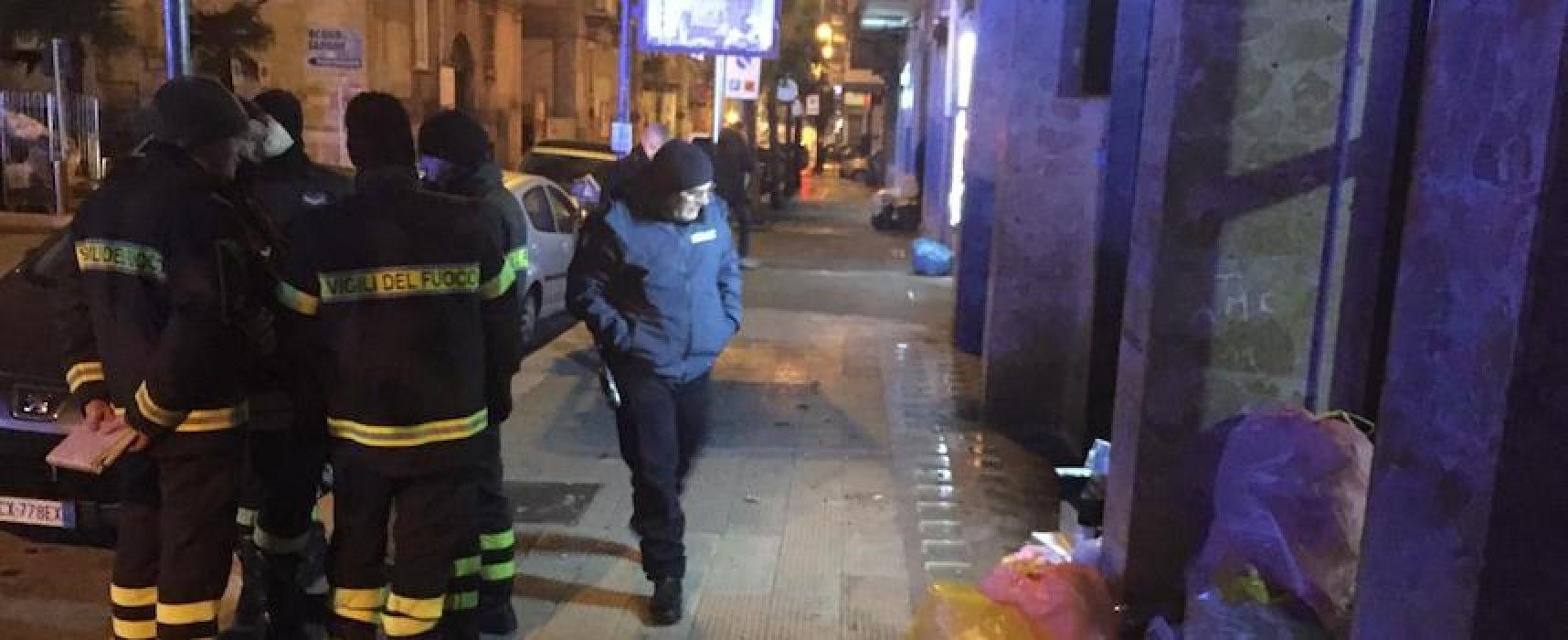 Bomba nella notte alla farmacia Silvestris