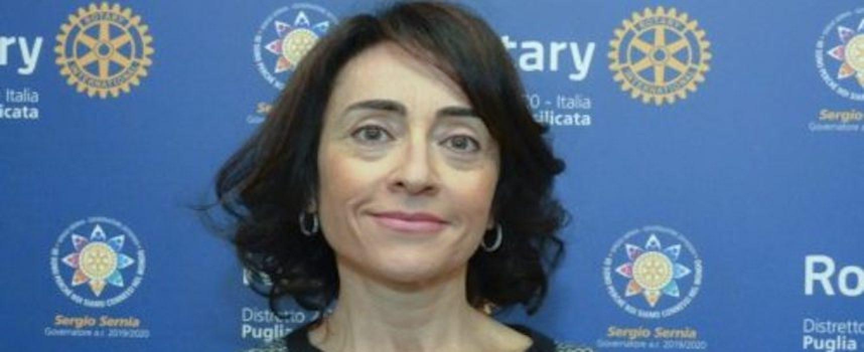 """Caterina Bruni commenta giro di boa anno Rotary: """"Partire dalla contemporaneità per servire"""""""