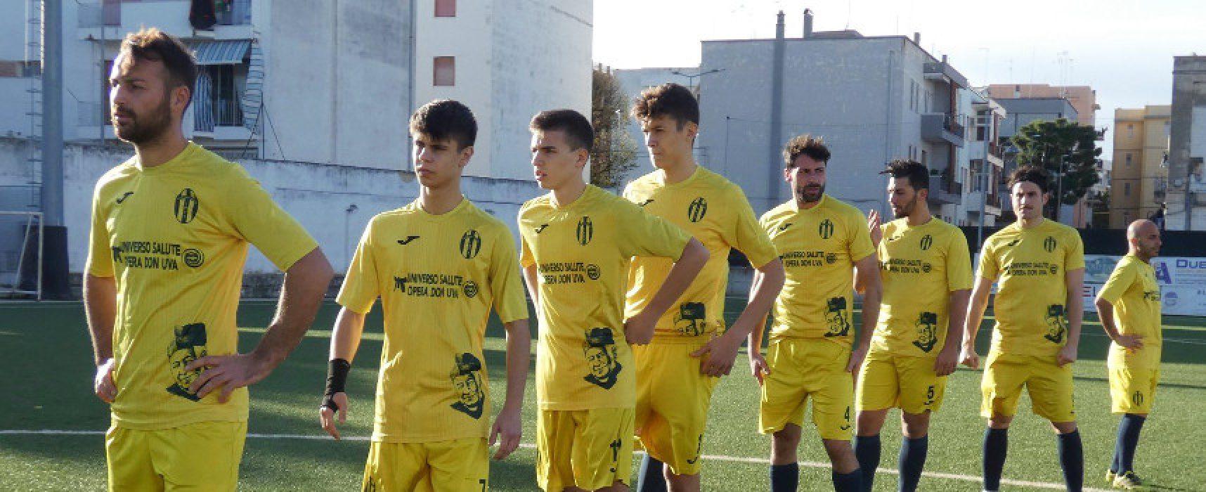 Don Uva, il nuovo anno comincia contro lo Sporting Apricena