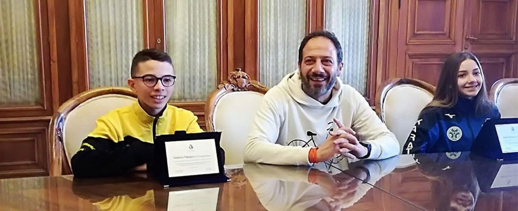 Riconoscimento dal Comune di Bari per il karateka biscegliese Federico Papagni