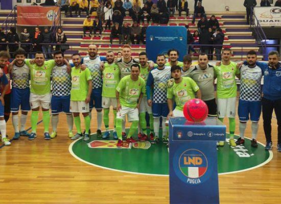 Il sogno Coppa Puglia del Nettuno C5 si ferma in semifinale