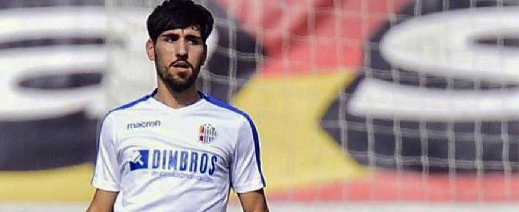 Mercato Bisceglie Calcio: preso il centrocampista Giordano Trovade