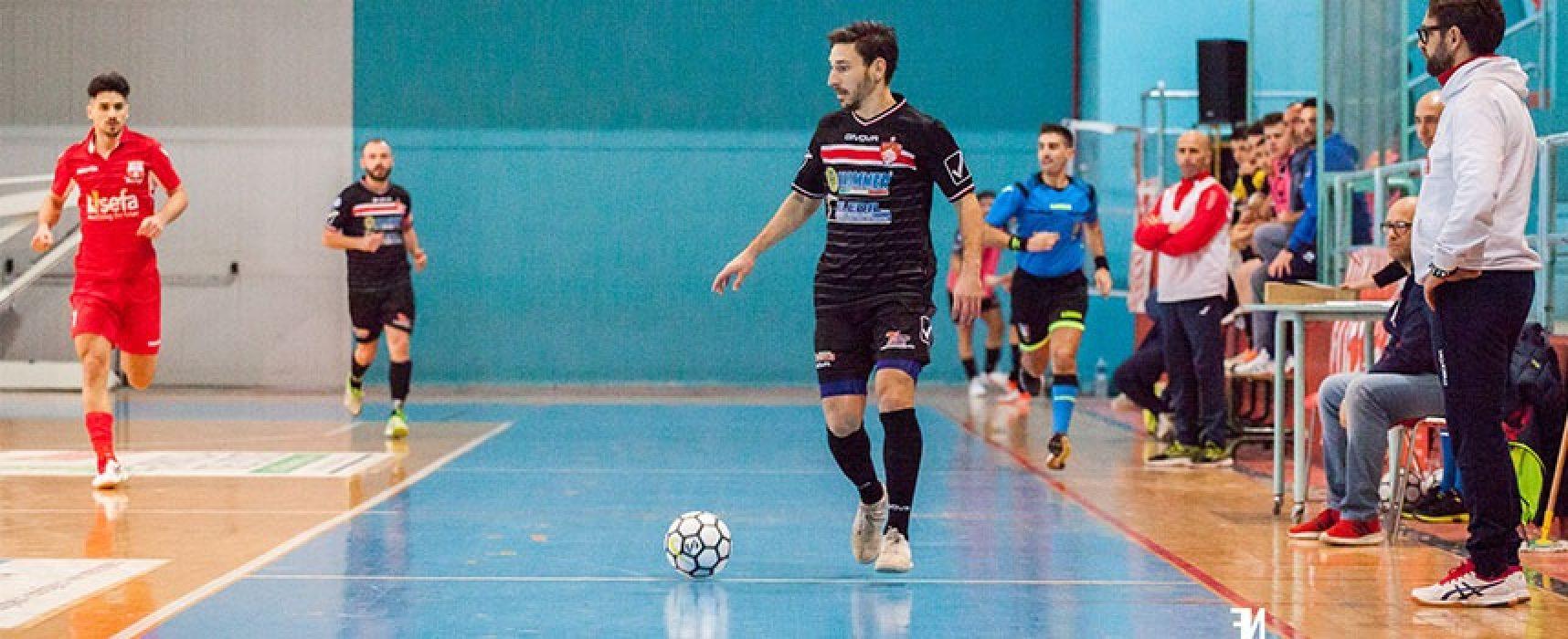 Derby per la Diaz, Futsal Bisceglie e Cinco alle prese con le capolista