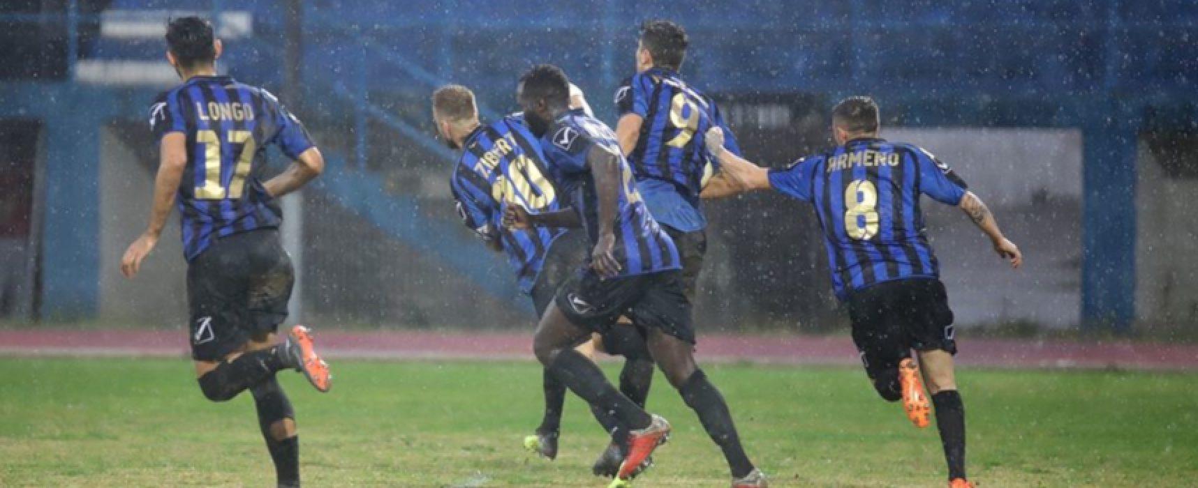 Il Bisceglie Calcio riparte dall'ostica trasferta di Catanzaro